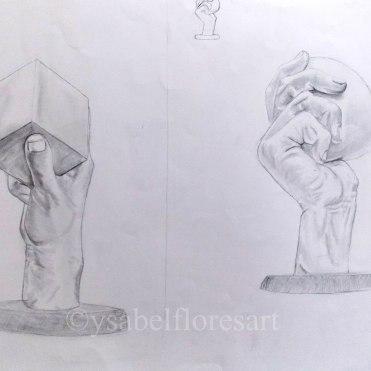 Posing Hands II