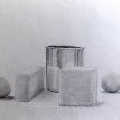 Geometric Still Life II